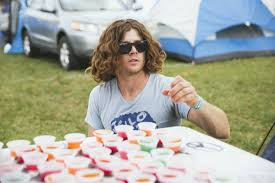 this man and his van full of jello are coming to a music festival what school did for me was help me learn how to approach my own jobs he said about williamson s strict community he turned to the festival circuit not