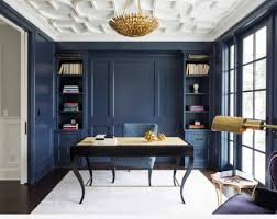 blue white and gold home office blue white home office