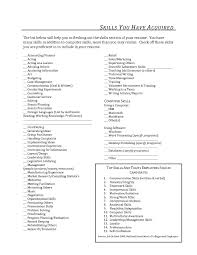 what to put in resume qualifications section pencil and paper
