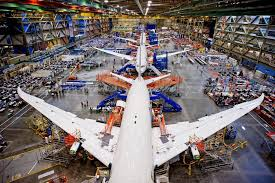 Image result for everett 787 production Line