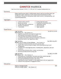 cover letter template for  resume examples secretary  digpio usresume