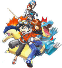 Image result for pokemon gold manga