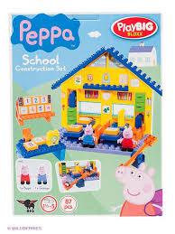 <b>Конструктор школа Peppa</b> Pig, 87 дет. <b>BIG</b> 1902118 в интернет ...