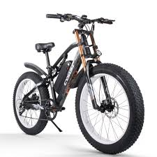 <b>Cysum M900 Electric</b> Bike Bicycle 48V 17AH 1000W 26in Fat Tire ...