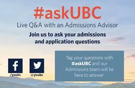ubc admissions questions qa ubc undergraduate programs and ubc admissions questions qa
