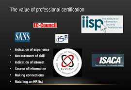 presentations starting your security career where can you go slide 14 the time bounded nature of certifications slide14