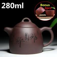 Authentic <b>yixing teapot</b> tea pot <b>120ml</b> purple clay tea set kettle kung ...
