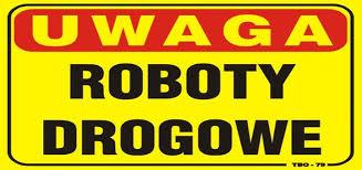 Znalezione obrazy dla zapytania roboty drogowe