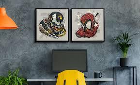 <b>Marvel</b>: <b>Spider</b>-<b>Man</b> & Venom MECHASOUL <b>Print</b> Set by Clogtwo ...