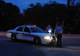 galveston police working at night in texas gov photo details