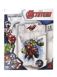 <b>Постельное белье Marvel</b> Halk Iron Man Captain America ...