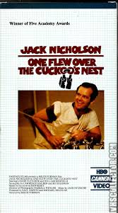 one flew over the cuckoo s nest com your analog one flew over the cuckoo s nest vhs cover