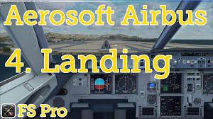 aerosoft airbus star approach landing part of