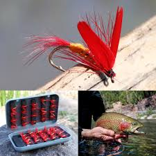 Sougayilang <b>Fly fishing</b> Lures with ABS Plastic Tackle Box Butterfly ...
