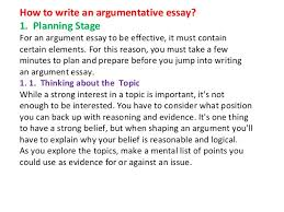 how to write a good argumentative essay logical structure to write    argumentative essay example powerpoint about yourself image argument essay introduction