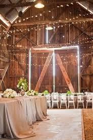 rustic barn wedding ideas barn wedding lights