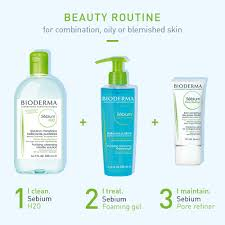 <b>Bioderma Sébium</b> H2O Purifying <b>Micellar</b> Cleansing Water and ...