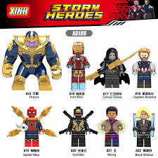 2019 <b>Marvel Super Heroes Legoings</b> Infinity War Thanos Guardians ...