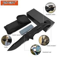<b>PRIVEST</b> G10 Multifunction Folding <b>Knife</b> Tactical Survival High ...