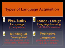 bilingualism and language teaching series  how bilingualism  types of language acquisition