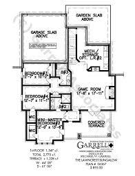 Lawncrest Bungalow House Plan   House Plans by Garrell Associates    PLAN NUMBER    Lawncrest Bungalow House