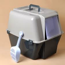 fully enclosed litter box cat meow star who bedpan toilet large dust splash urinal send litter arena kitty litter box