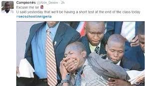 SecSchoolInNigeria: Nigerians Hilariously Recount Their Secondary ... via Relatably.com