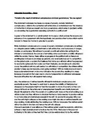 essay on poverty   gcse miscellaneous   marked by teacherscom page  zoom in