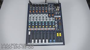 <b>Микшерный пульт SOUNDCRAFT</b> EPM6 - YouTube