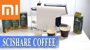 <b>Xiaomi SCISHARE</b> обзор капсульной кофеварки - готовим кофе ...
