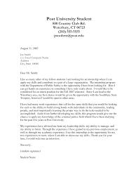 cover letter purpose informatin for letter cover letter example internship