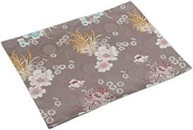 Amosfun <b>Christmas Placemats</b> Deer <b>Pattern</b> Heat Resistant Linen ...
