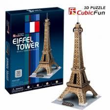 """Отзывы о <b>3D Пазл CubicFun</b> """"Эйфелева башня"""""""