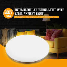 €89 with coupon for <b>Yeelight YLXD50YL 470mm</b> 50W Surrounding ...