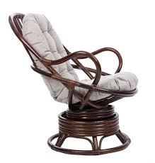 <b>Кресло</b>-<b>качалка</b> Мебель Импэкс <b>SWIVEL ROCKER</b> с подушкой ...
