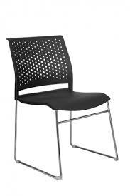 <b>Кресло</b> для посетителей <b>RIVA CHAIR RCH</b> D918 Чёрный пластик ...