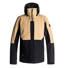 Куртка утепленная мужская QUIKSILVER Tr Ambition Jk Black