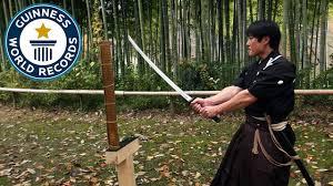 Martial arts master attempts <b>katana</b> world record - Japan Tour ...