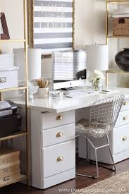 chic home office decor:  ideas about gold office on pinterest gold office supplies gold office accessories and office accessories