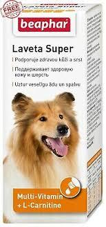 50 ml <b>Beaphar Laveta Super</b> Hund Vitamins for Fur Suitable for ...