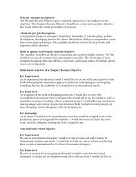 example of good objective for resume template example of good objective for resume