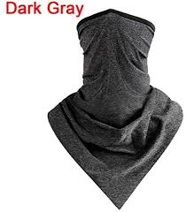 HYS <b>1PC</b> Outdoor <b>Cycling Breathable Ice</b> Silk Neck Cover Face ...