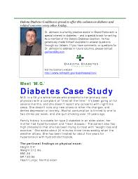 case study on diabetes clinical case illustrating treatment of a poorly controlled man type 2 diabetes