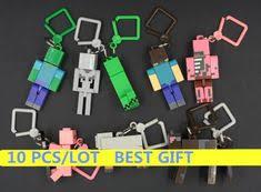 Hot ! Toys <b>10pcs</b>/lot Generation 1/2/3 juguetes PVC Minecraft Toys ...