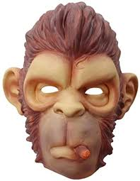 XIANGYANG <b>Monkey</b> Latex Animals <b>Masks</b>, Halloween Gorilla <b>Mask</b> ...