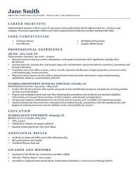 resume template  resume writing objectives resume writing goals    what should be the objective in a resume   administrative assistant experience