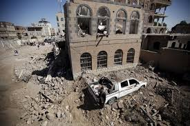 Saudi-led coalition drops weapons for allies in Yemeni city | Reuters