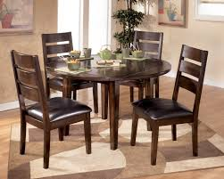 dining sets seater:  round glass dining room table sets seat qj pictures breakfast tables and chairs gallery perfect design of brown wooden plus also black