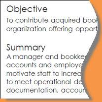 resume writing objectives summaries or professional profiles  objective and summary example