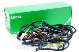 wiring harness bsa b31 b33 m20 m21 rigid amp plunger genuine lucas wiring harness bsa b31 b33 m20 m21 rigid plunger genuine lucas
